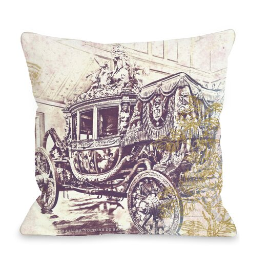 One Bella Casa Oliver Gal Charles X Pillow