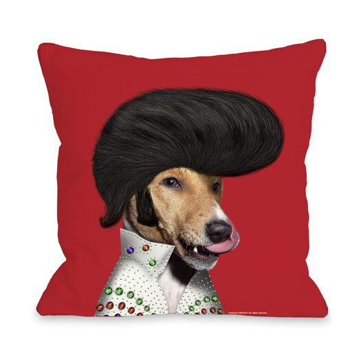 One Bella Casa Pets Rock Rock n' Roll Pillow