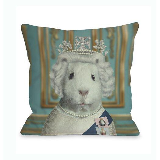 One Bella Casa Pets Rock HRH Pillow
