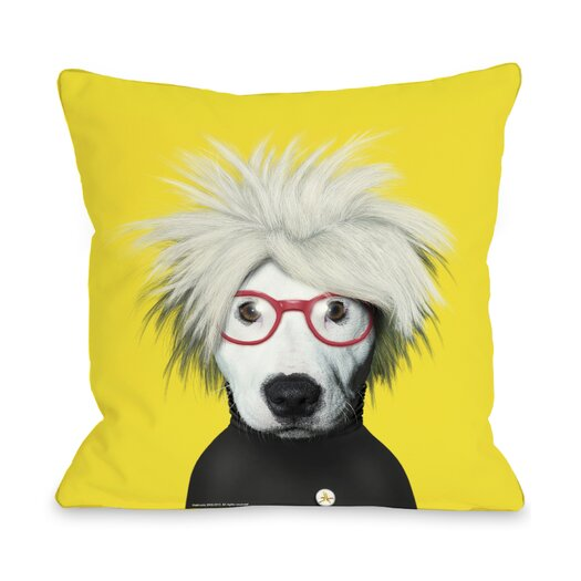 One Bella Casa Pets Rock Soup Pillow
