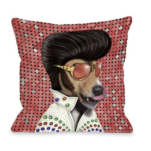 One Bella Casa Pets Rock Vegas Pillow