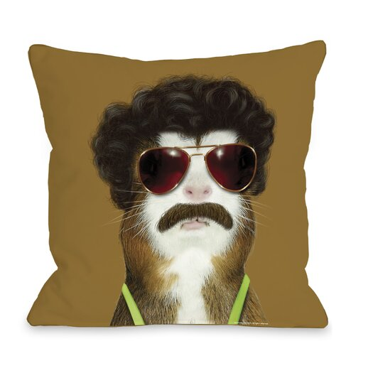 One Bella Casa Pets Rock Kazak Pillow