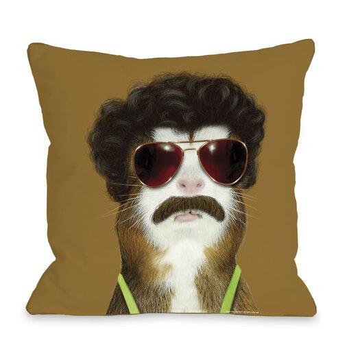 One Bella Casa Pets Rock Kazak Pillow