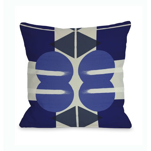 One Bella Casa Oliver Gal Geometry Studies III Pillow