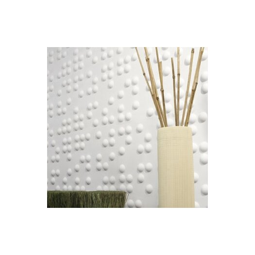 Inhabit Wall Flats Braille 10 Piece Panel Wallpaper
