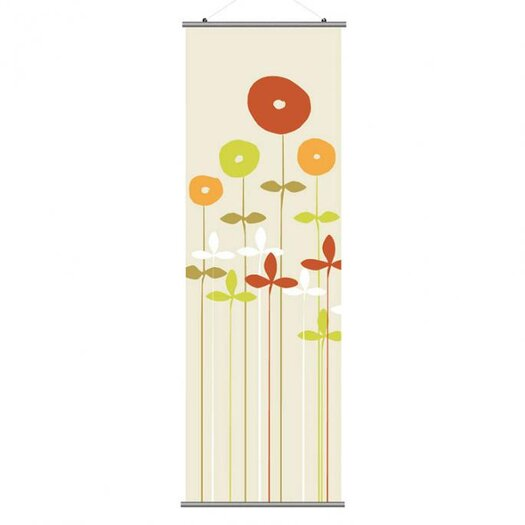 Inhabit Aequorea Scribble Slat Wall Hanging