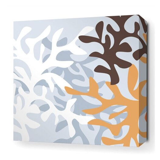 Spa Reef Stretched Graphic Art on Canvas