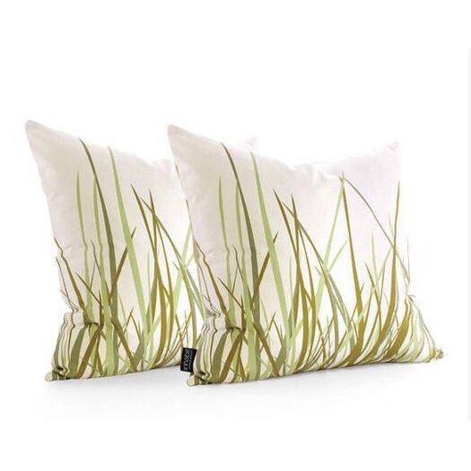 Inhabit Nourish Summer Suede Throw Pillow