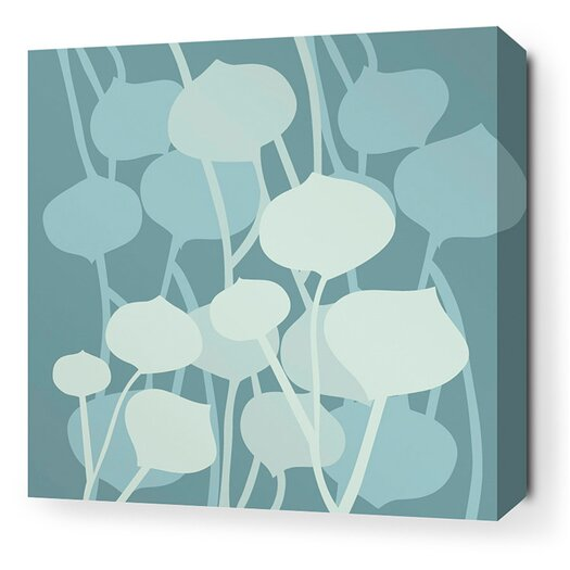 Inhabit Aequorea Seedling Graphic Art on Canvas in Cornflower