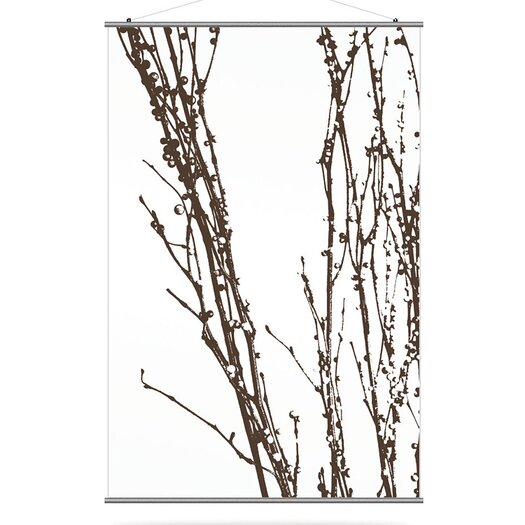 Inhabit Morning Glory Undergrowth 2 Slat Wall Hanging