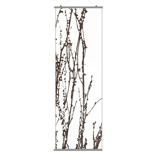 Inhabit Morning Glory Undergrowth 1 Slat Wall Hanging