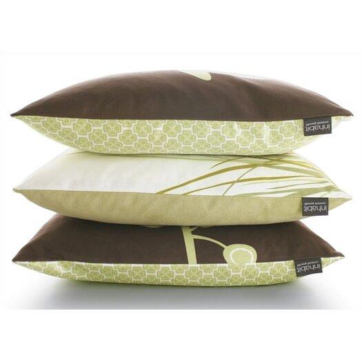 Inhabit Nourish Sprout Suede Throw Pillow