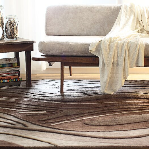 Inhabit Madera Rug in Chocolate