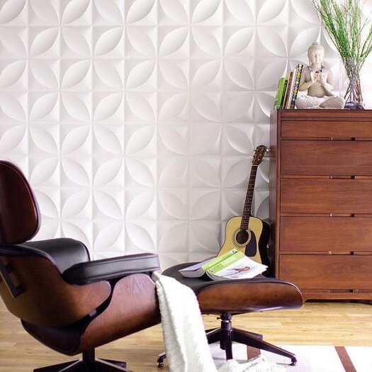 Inhabit Wall Flats Chrysalis Geometric Wallpaper Tile