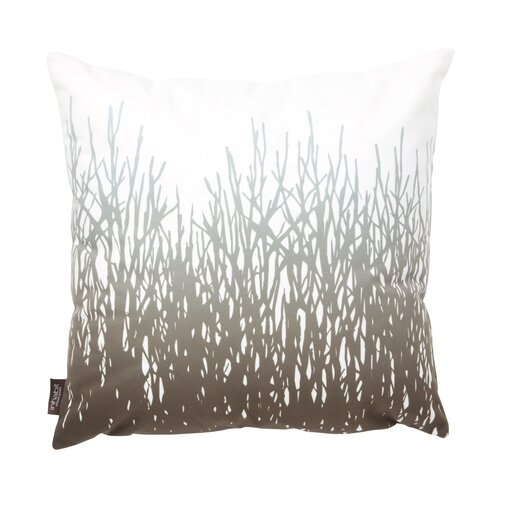 Nourish Field Suede Throw Pillow