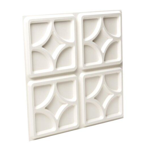Inhabit Wall Flats Luna Geometric 10 Piece Wallpaper Tiles