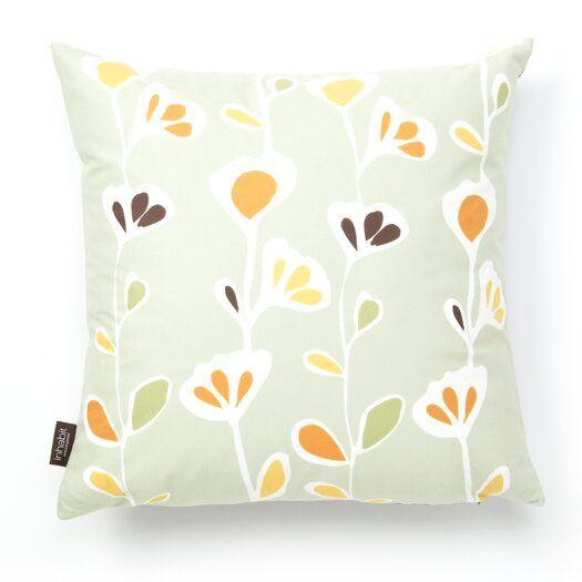 Inhabit Aequorea Rhythm Stencil Synthetic Pillow