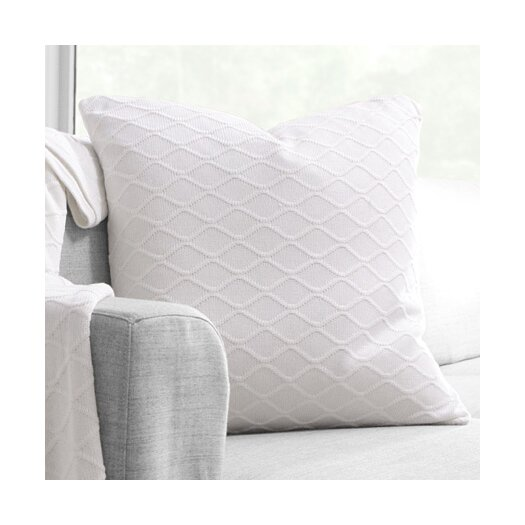 Inhabit Current Organic Bamboo & Cotton Throw Pillow