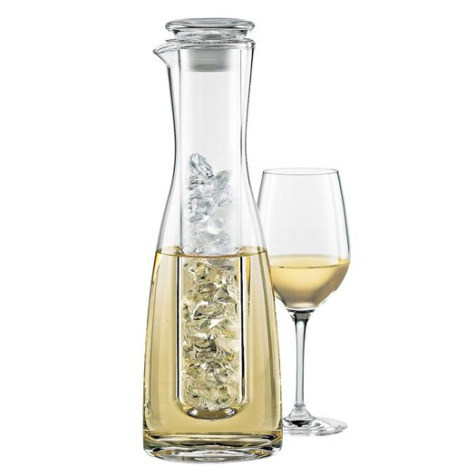 Wine Enthusiast 2 Piece Chilling Carafe