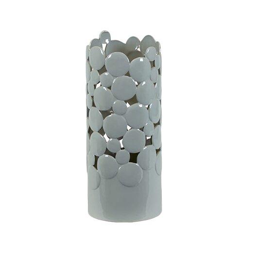 Urban Trends Ceramic Cut Design Vase