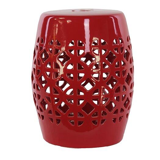 Urban Trends Ceramic Garden Stool II