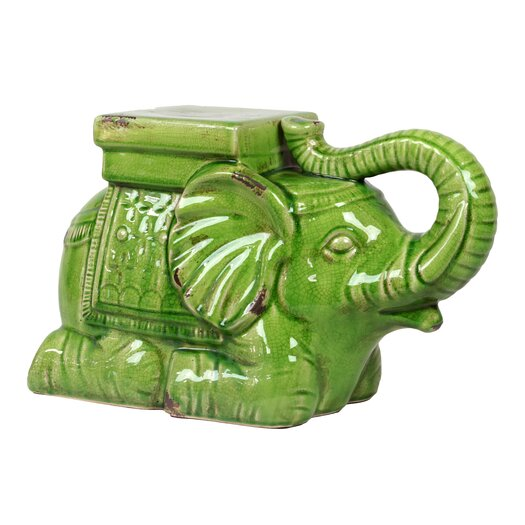 Urban Trends Ceramic Elephant Figurine