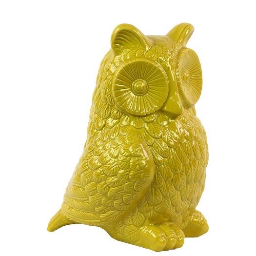 Urban Trends Ceramic Owl Figurine