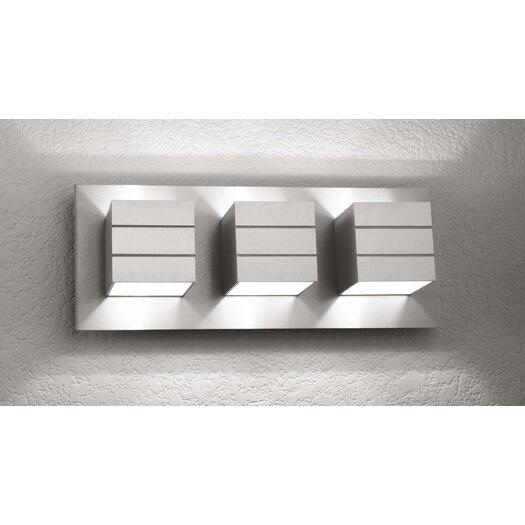 LumenArt Alume 3 Light Wall Sconce