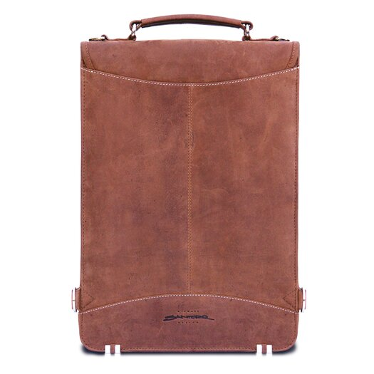 MacCase Premium Leather Flight Case Briefcase