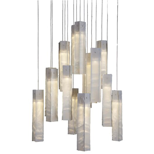 Light In Art by Shimal'e Peleg Tanzania 25 Light  Chandelier