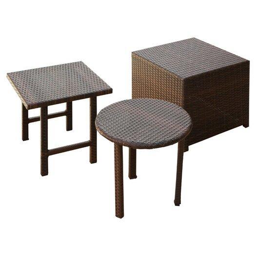 Home Loft Concept Jarkarta Wicker Table Set