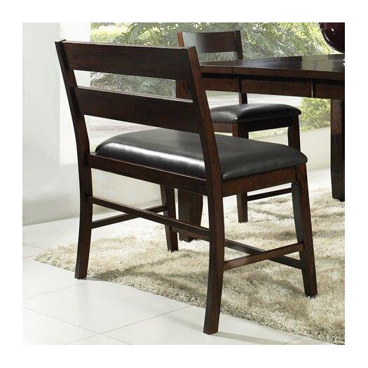Urban Styles Furniture Corp. Alpine Ridge Upholstered Kitchen Bench