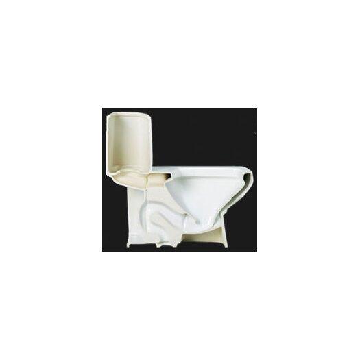 EAGO Ceramic Dual Flush Elongated Toilet 1 Piece
