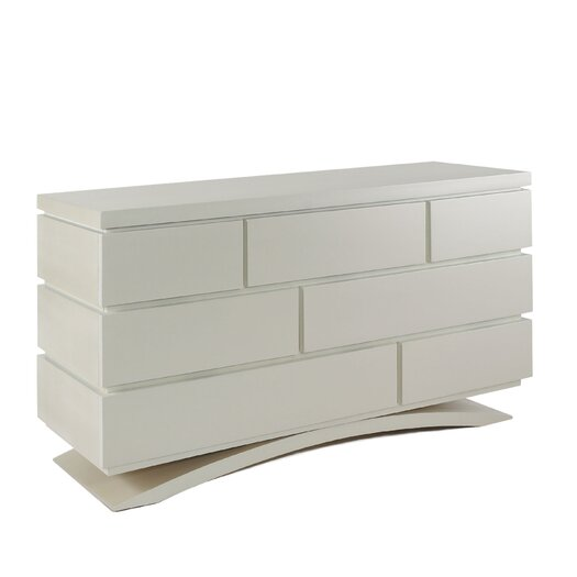 Capretti Design Milano 7-Drawer Double Dresser