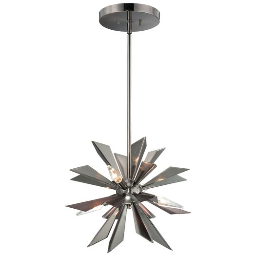 Crystorama Galaxy 4 Light Chandelier