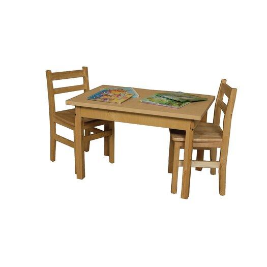 Wood Designs Rectangle High Pressure Laminate Table (Adjustable Legs)