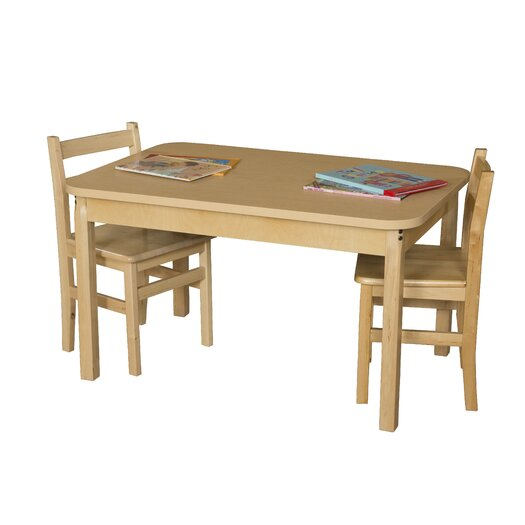 Wood Designs Rectangle High Pressure Laminate Table (Adjustable Legs)