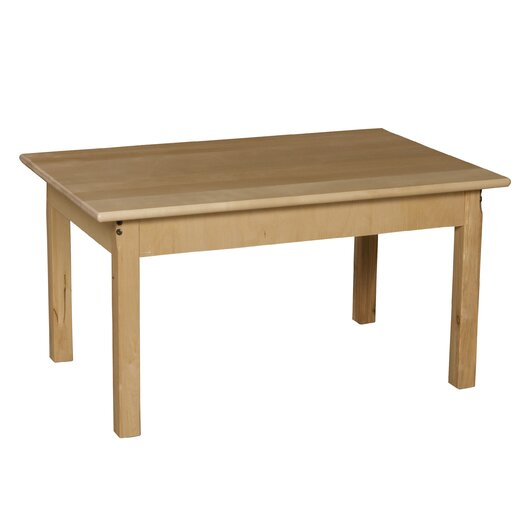 Wood Designs Rectangular Classroom Table