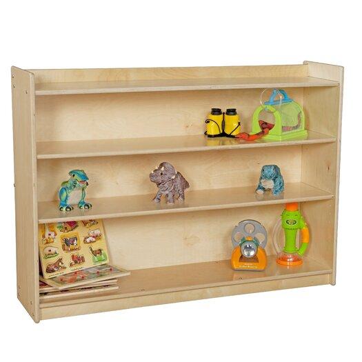 Wood Designs Contender Mobile Three Shelf Storage