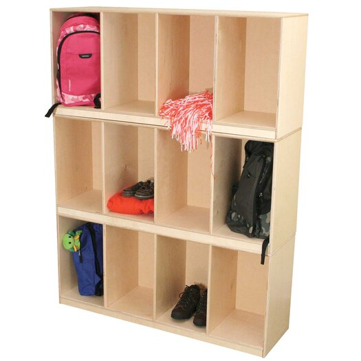 Wood Designs Open Stack Locker