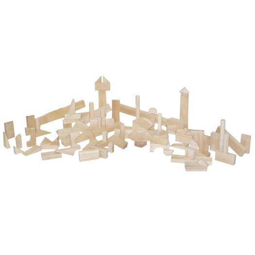 Wood Designs 93 Piece Nursery Block Set