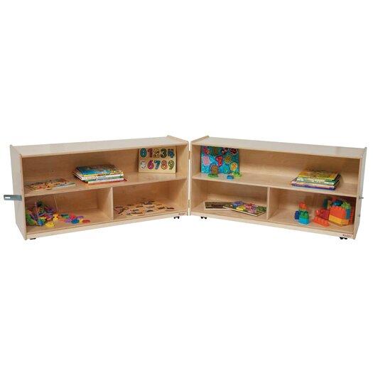 "Wood Designs 24"" Extra Deep Versatile Folding Storage Unit"