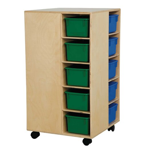 Wood Designs Space Saver 20 Compartment Cubby