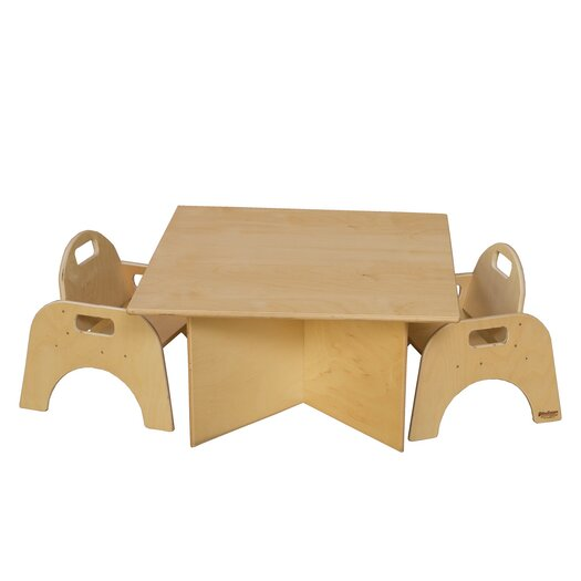 Wood Designs Tot Size Multi Use Table