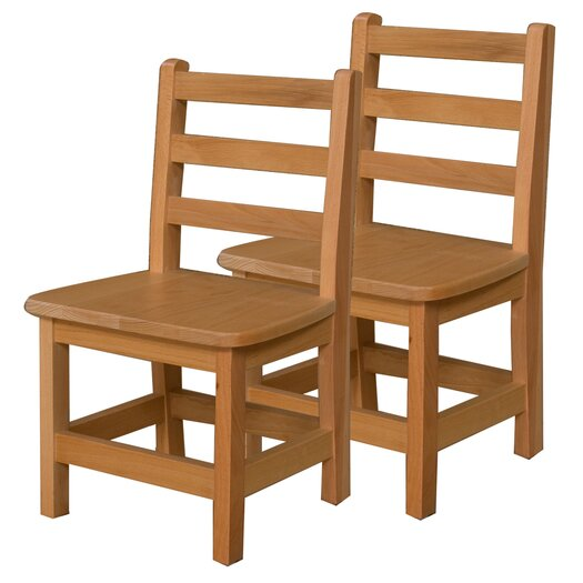 """Wood Designs 12"""" Wood Classroom Glides Chair"""