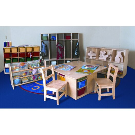 Wood Designs 7 Piece Classroom Storage Package Set