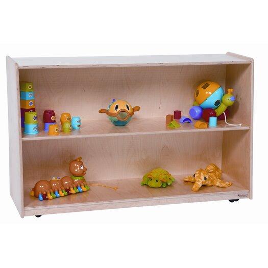 Wood Designs Tip-Me-Not Shelf Storage Cabinet
