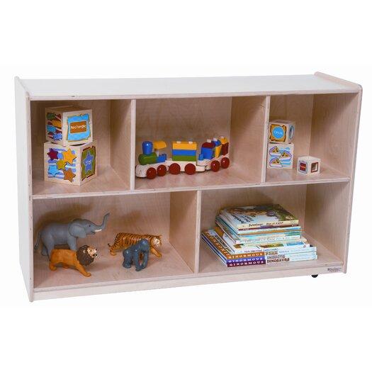 "Wood Designs 30"" Mobile Single Storage Unit with Hardboard Back"