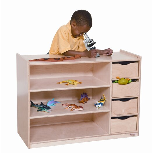 Wood Designs Storage Centre with Drawers
