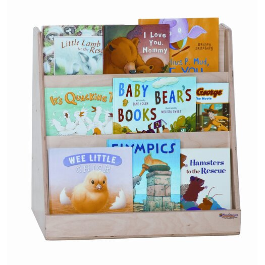 Wood Designs Tot Size Book Display